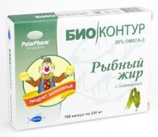 Рыбный жир  с ламинарией (Мурманск)