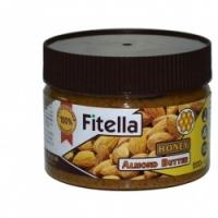 Паста миндальная с медом Fitella, 300гр.