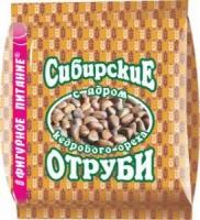 Отруби пшеничные сибирские 200гр, в ассортименте