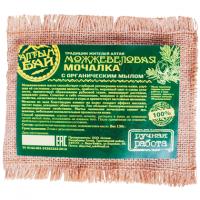 Мочалка Можжевеловая, с органическим мылом