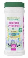 Клетчатка сибирская льняная с черникой, 280 гр