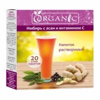 """Органик """"Имбирь с асаи и витамином C"""" напиток растворимый, 20 стик/п. х 5,0 г"""
