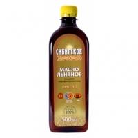 Льняное масло Сибирское, 500мл
