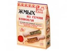 Жмых из семян конопли 200 гр (Радоград)