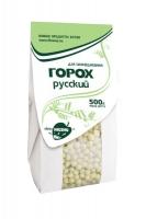 Горох русский, зерно для проращивания 500гр