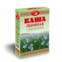 """Каша льняная """"Добрый лён"""" с кедровой мукой 400гр"""