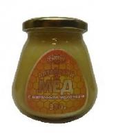 Мёд Алтайский   с МАТОЧНЫМ МОЛОЧКОМ, 330 гр