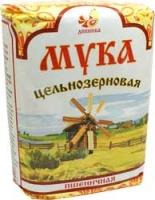 Мука пшеничная обойная (цельнозерновая), 1кг