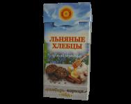 Хлебцы льняные ИМБИРЬ, КОРИЦА, МЕД