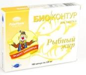 Рыбный жир без добавок (Мурманск), 100 капс. по 0,33 г