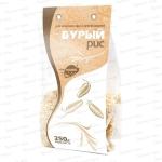 Рис шелушеный БУРЫЙ 250гр Образ Жизни