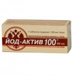 Йод-Актив 100, таб. 0,25г №60