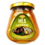 Мёд Алтайский с кедровой живицей, (330 гр, стекло)