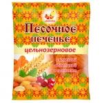 Печенье Песочное цельнозерновое арахис/клюква 300гр